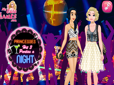 Princesses it 3 Parties a Night