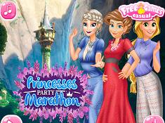 Princesses Party Marathon