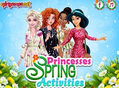 Princesses Spring Activities
