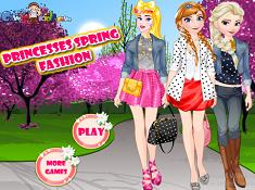 Princesses Spring Fashion