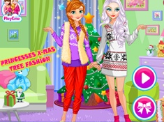 Princesses Xmax Tree Fashion
