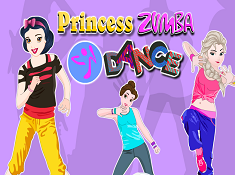 Princesses Zumba Dance