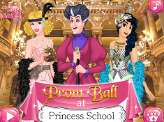 Prom Ball at Princess School