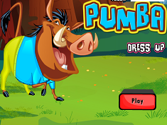 Pumbaa Dress Up