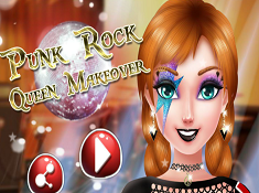 Punk Rock Queen Makeover