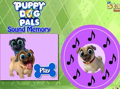 Puppy Dog Pals Sound Memory