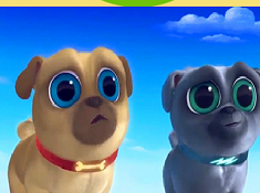 Puppy Dog Pals Surfing Puzzle
