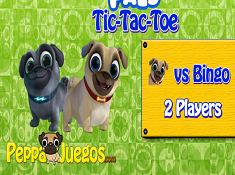 Puppy Dog Pals Tic Tac Toe