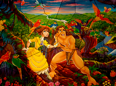 Puzzle Mania Jane Porter and Tarzan