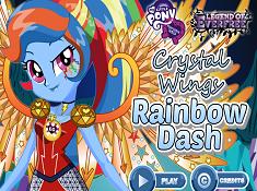 Rainbow Dash Crystal Wings