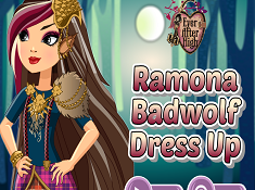 Ramona Badwolf Dress Up