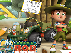 Ranger Rob Coloring Book