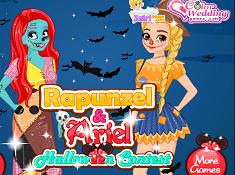 Rapunzel and Ariel Halloween Contest