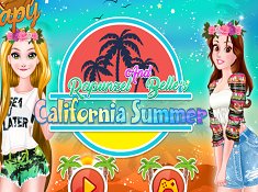 Rapunzel and Belles California Summer