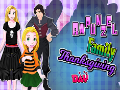 Rapunzel Family Thanksgiving Day