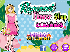 Rapunzel Flower Shop Cleaning