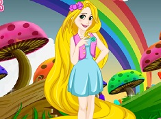 Rapunzel Hipster Makeover