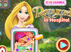 Rapunzel in Hospital