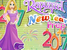 Rapunzel New Year Prep