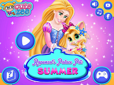 Rapunzel Palace Pet Summer