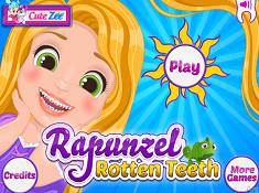 Rapunzel Rotten Teeth