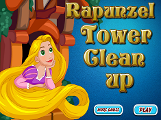 Rapunzel Tower Clean Up