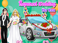 Rapunzel Wedding Car Wash