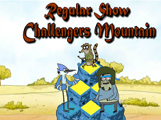 Regular Show Challenges Mountain