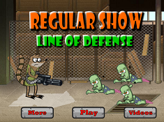 Regular Show Line of Defense