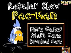Regular Show Pac Man