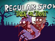 Regular Show Trick or Treat