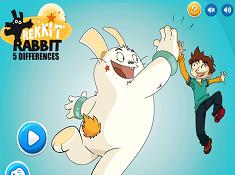 Rekkitt Rabbit 5 Differences