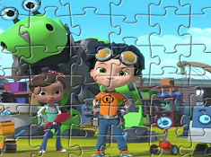 Rusty and Friends Puzzle