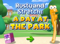 Rusty and Stretch A Day At The Park