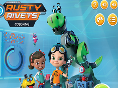 Rusty Rivets Coloring