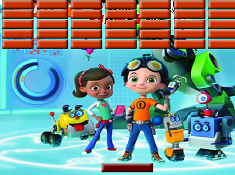 Rusty Rivets Paddle Ball