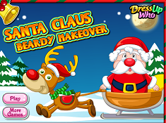 Santa Claus Beardy Makeover