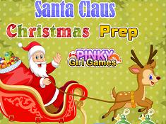 Santa Claus Christmas Prep