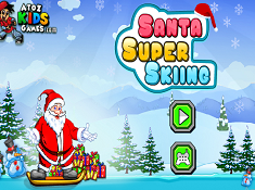 Santa Super Skiing