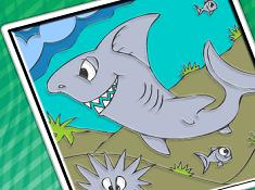 Shark Tale Coloring