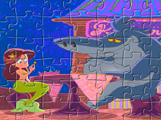 Sharko and Marina Puzzle