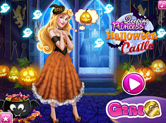 Sleeping Princess Halloween Castle