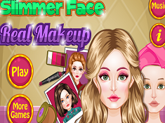 Slimmer Face Real Makeup