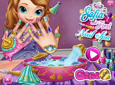 Sofia the First Nails Spa