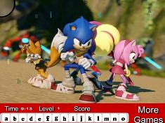 Sonic Boom Hidden Letters