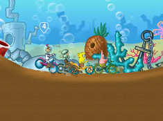 Spongebob Cycle Race