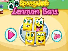 SpongeBob Lemon Bars