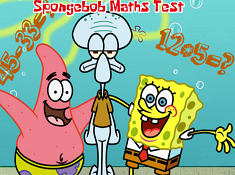Spongebob Math Test