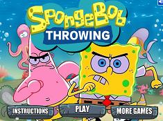 Spongebob Throwing
