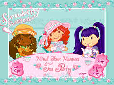 Strawberry Shortcake Tea Party